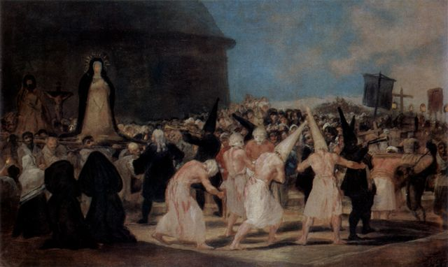 Francisco de Goya y Lucientes: Geißlerprozession