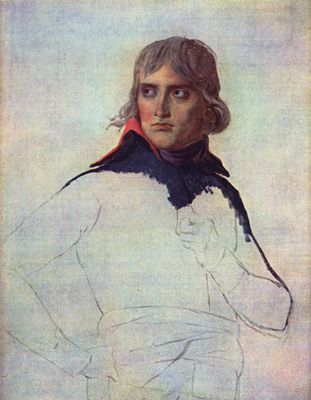 Jacques-Louis David: Porträt des General Napoleon Bonaparte