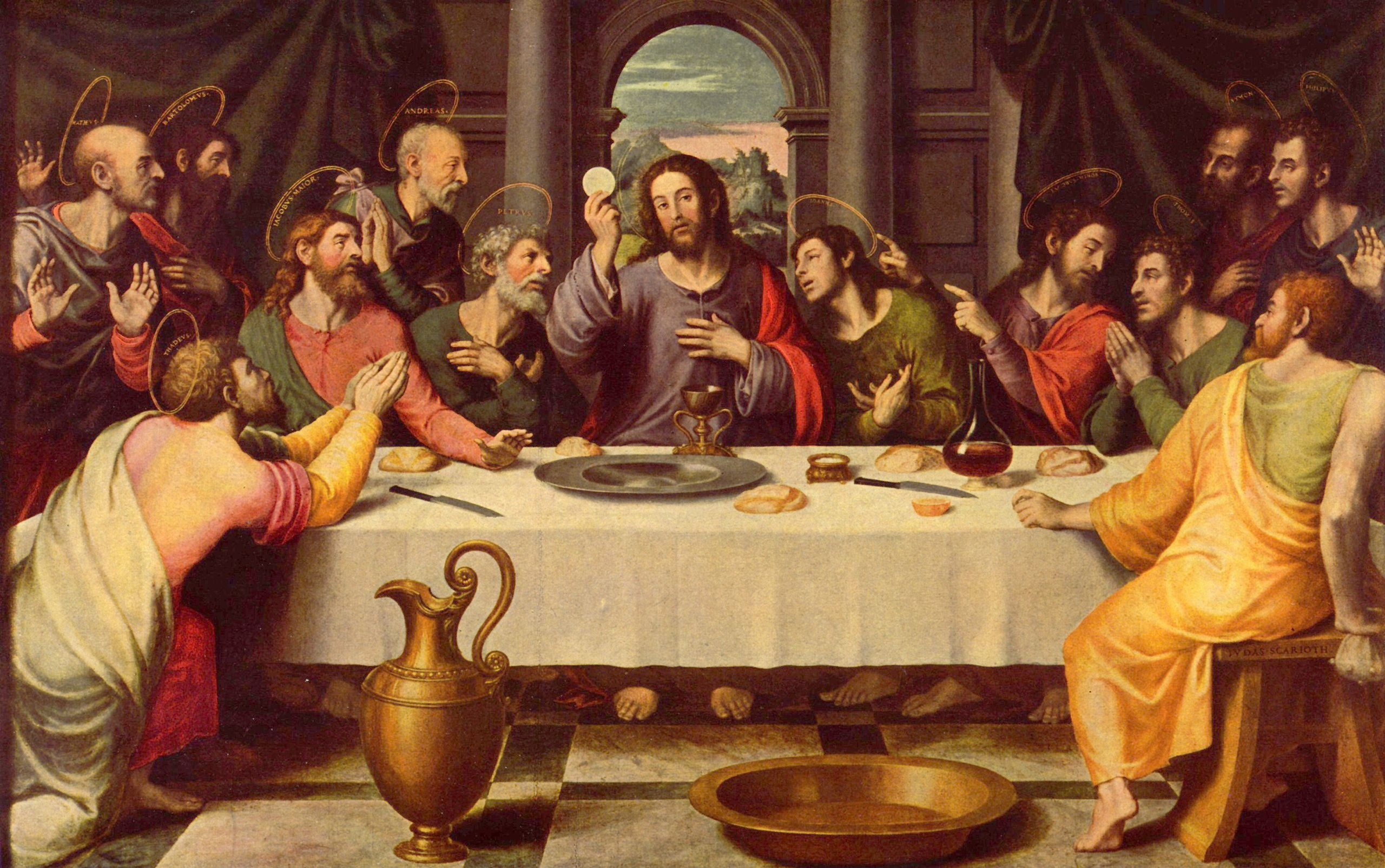 Großbild: juan de juanes: das abendmahl