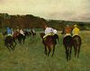 Edgar Germain Hilaire Degas: Rennpferde in Longchamp
