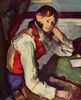 Paul Cézanne: Knabe mit roter Weste
